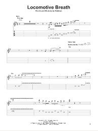 locomotive breath piano sheet music locomotive breath sheet music direct
