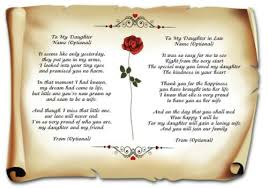wedding cards invitations a4 poem to