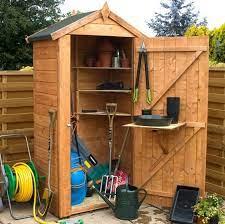 waltons grande wooden garden storage