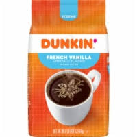 Made from 100% premium arabica coffee, the pods deliver a rich taste in every cup. Kroger Dunkin Donuts French Vanilla Ground Coffee 12 Oz