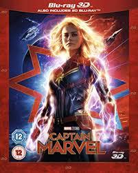 Captain Marvel [Blu-ray 3D] [2019]: Brie Larson ... - Amazon.com