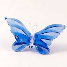 miniature figurines blown glass erfly 12 of 270 hover