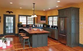 image of kitchen paint color ideas with oak cabinets photos
