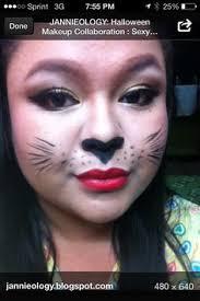 bunny costume makeup photo 3