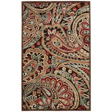 nourison graphic illusions multicolor 2 ft x 4 ft area rug
