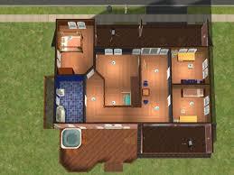The Sims By Bissela    Floor plan       nd floor