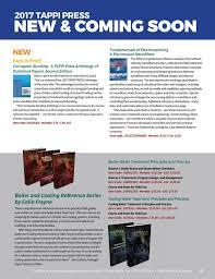 Tappi Press Catalog 2017