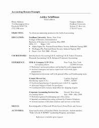 Brilliant Ideas Of Accountant Resume Format In Word Format In