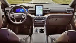 2020 Ford Explorer Color Chart 2020 Ford Explorer Interior