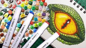Caliart Markers 100 Color Chart 11 Best Alcohol Markers Of 2019 Must Read Verycreate Com