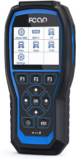 Fcar <b>F506</b> Auto OBD2 Scanner for <b>Heavy Duty</b> Truck Enhanced <b>HD</b> ...