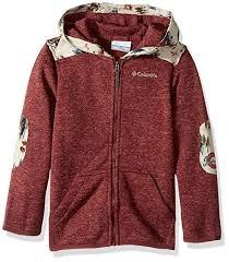 Columbia Boys Birch Woods Ii Full Zip Fleece Jacket