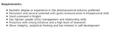 Pharmaceutical Sales Degree These Are The Advertised Skills Needed Of A Pharma Sales