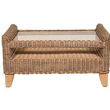 coffee table rattan glass top conservatory coffee table bamboo rattan coffee table indoor wicker coffee