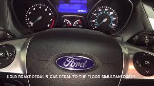 2016 Ford Focus Oil Change Light How To Reset Ford Focus Oil Light