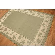 palm tree outdoor rug indoor outdoor palm trees border contemporary rug palm tree border outdoor rug