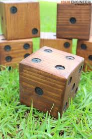 Wooden Yard Games Remodelaholic DIY Yard Dice Tutorial 90