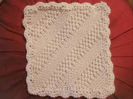 Knit Potholder Pattern