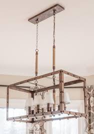 Farmhouse Style Lighting Rustic Farmhouse Breakfast Area Reveal Before And After