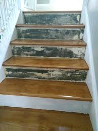 wooden stair riser wood stair risers repair how to cover old stair risers home improvement stack wooden stair