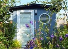 smart garden office. celebrating garden office week with this blue room from smart offices http