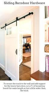 dual sliding barn doors interior for indoor door kit