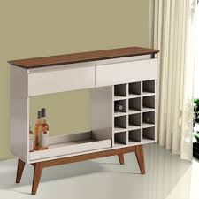 wooden bar unit in india bar unit with bottle and glass storage evok