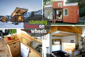 Houses On Wheels That Will Make Your Jaw Drop - Tiny house on wheels interior