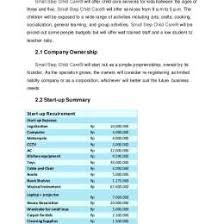 Child Care Budget Template Child Care Start Up Budget Template 134936638309 Budget For