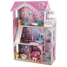 «<b>Трехэтажный дом</b> для кукол <b>KidKraft</b> Барби Аннабель с ...