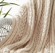 Cable Afghan Knitting Patterns In The Loop Knitting