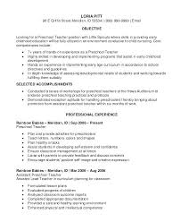 Ece Educator Resume Examples Teacher Assistant Resumes Examples Of ...