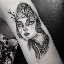 удивительные тату которые выглядят как графические рисунки