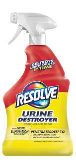 pet urine stain and odor remover spray