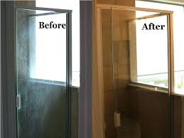 cleaning glass shower doors surprising cleaning glass shower doors with vinegar and dawn glass door cleaning
