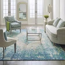 Perfect home decor ideas with colorful variation Shades The Looking Glass Rug Adds Romance To Living Room With An Impressionistic Floral Pattern Image Perigold Freshomecom 12 Living Room Rug Ideas That Will Change Everything