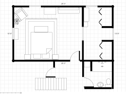 Small Bedroom Floor Plan Bathroom To A Master Bedroom Dressing Area Try 2 With Floor