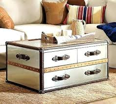 coffee table trunk chest chest coffee tables decoration in coffee table trunks feeling nostalgia with steamer