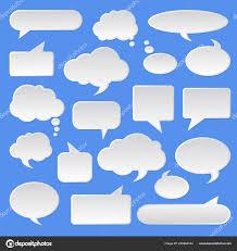 Tag Shape Template Cloud Bubble Template Business Shape Symbol Pattern Tag