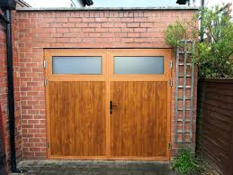 decorating side hinged garage doors insulated with windows door ideas 1 golden oak timber