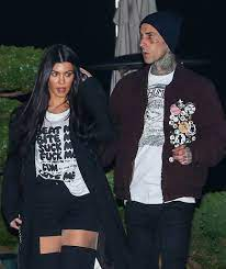 Kourtney Kardashian & Travis Barker ...
