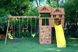 swing set kit home depot sets metal wooden kits accessories whole s