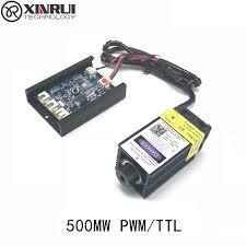 <b>500mw 405NM</b> focusing <b>blue purple</b> laser module laser engraving ...