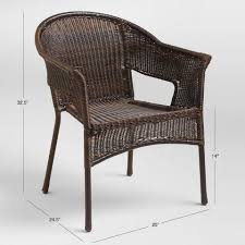 weather wicker outdoor tub chair set
