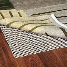 non slip rug pad for carpet use on skid mohawk sketch