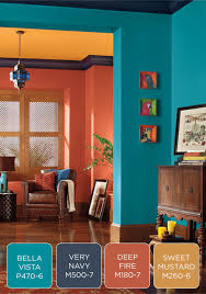 make a bold statement in your entryway with a colorful behr paint palette try fresh