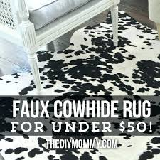 fake cowhide rug faux black and white stylish planning rugs cow ikea large size of faux cowhide rug
