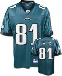 Jersey Eagles Owens Owens Terrell Terrell