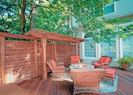 design ideas for outdoor privacy walls screen and curtains diy deck privacy wall for patio