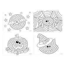 Small Picture Halloween Dot Activity Sheets Oriental Trading Within Thanksgiving